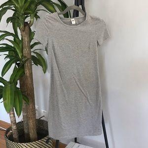 Little Grey T-shirt Dress